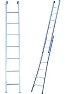 Escada Extensível 2X7 Em Alumínio Com 14 Degraus E Alcance De Até 3,87M - Mor