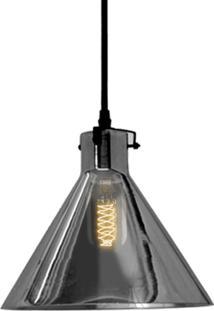 Pendente Retrô Preto Com Lâmpada Filamento De Carbono T45 127V Sl2332 Toplux - Kanui