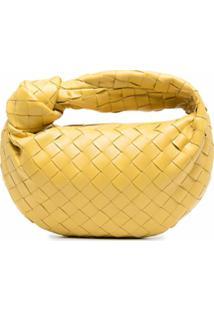 Bottega Veneta Bolsa Tote Jodie Mini - Amarelo