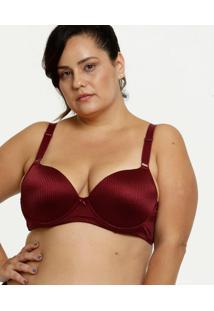 Sutiã Feminino Com Base Plus Size Marisa