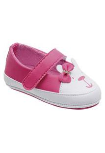 Sapatilha Boneca Little Cute Ursinho Pink