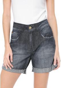 Bermuda Jeans Colcci Reta Daria Azul-Marinho
