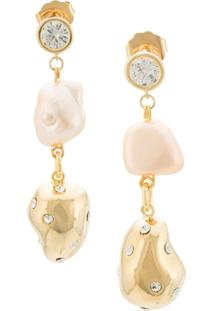 Mounser Drop Earrings - Dourado
