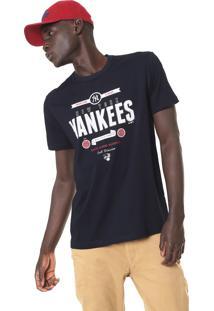Camiseta New Era New York Yankees Preta