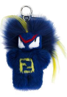 Fendi Chaveiro 'Fendirumi Bug-Kun' - Azul