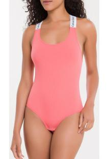 Body Canelado Modern Cotton - Blush - S