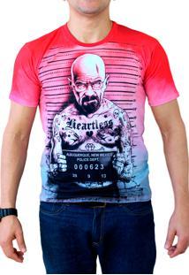Camiseta Ops Heisenberg Tattoo Estampada