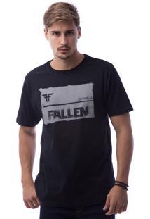 Camiseta Manga Curta Fallen Preto