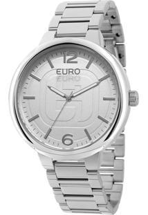 Relógio Euro Feminino Basic Eu2036Lyu/K3K - Prata