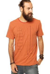 Camiseta Fiveblu Laranja