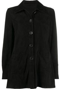 Etro Single Breasted Jacket - Preto