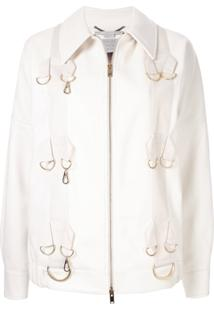 Stella Mccartney Jaqueta Slim - Branco