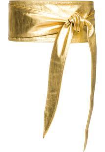 Cinto Feminino Lemonia - Dourado