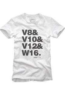 Camiseta Reserva W16 Masculina - Masculino-Branco