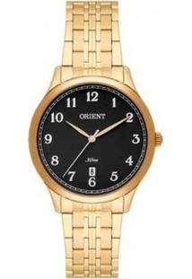 Relógio Orient Analógico Fgss1135 P2Kx Feminino - Feminino-Dourado