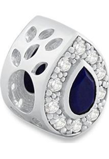 Pingente Life Gota Com Topázio E Lapis Lazuli