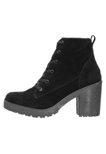 Bota Cano Médio Ankle Boots Dududias10 Preta