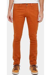 Calça Sarja Skinny Biotipo Color Masculina - Masculino