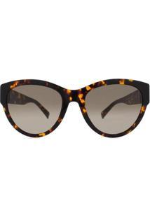 Óculos De Sol Max Mara Mm Flat Iii Feminino - Feminino-Preto