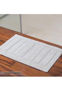 Tapete Para Banheiro Chenai- Off White- 120X60Cmniazitex