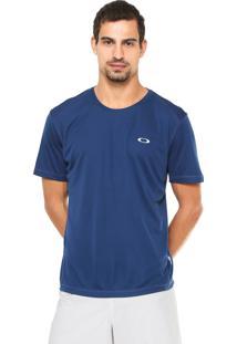Camiseta Oakley Reta Logo Azul