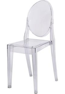 Cadeira De Jantar Invisible- Incolor- 90,5X48,5X35,5Or Design