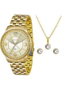 Kit Relógio Feminino Lince Lrg4340L K229C2Kx