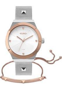 Relógio Euro Unique Feminino Bicolor Eu2035Yri/K5K Eu2035Yri/K5K