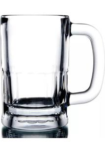 Caneca Para Chopp Libbey Zero Grau Em Vidro Transparente 355Ml