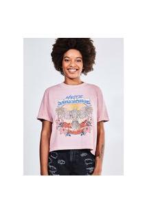 Camiseta Estampada Mystic Sunshine