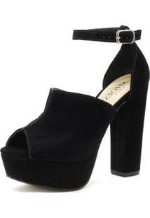 Sandal Boot Shoes Inbox Salto Alto - Feminino