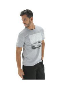 Camiseta Timberland Kennebec Rv Photographic - Masculina - Cinza