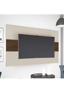 Painel Para Tv Até 50 Polegadas 1.36 Drovo Off White/Capuccino - Móveis Germai