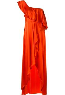 Alexis Austyn One-Shoulder Dress - Laranja