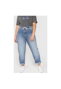 Calça Jeans Cantão Baggy Azul