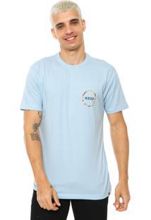 Camiseta Reef Hippie Flower Azul