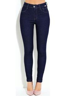 Calça Jeans Escuro Skinny