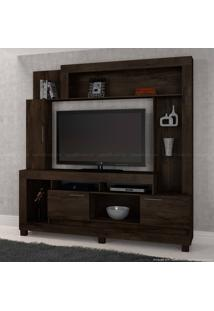 Estante Para Tv Até 47 Polegadas 3 Portas Paraibuna Candian Cacau - Jcm Movelaria