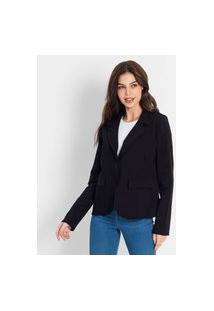 Blazer Molecotton Endless Preto