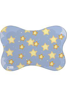 Tapete Pet Mdecore Estrelas Azul 46X33Cm