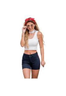 Bermuda Feminina Biotipo Jeans 16751 Elas 22959
