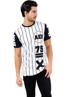 Camiseta Aes 1975 Alongada (Swag) Ll - Masculino