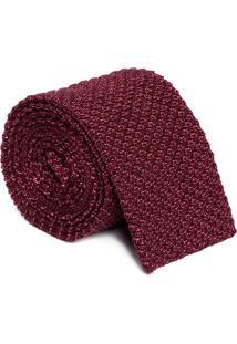 Gravata Tricot - Vermelho
