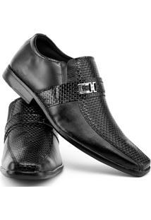 Sapato Social De Couro - Masculino