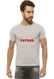 Camiseta Joss - Future - Masculina - Masculino-Mescla
