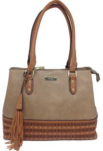 Bolsa Casual Importada Sys Fashion 9010 Caqui