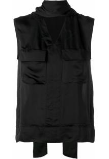 Golden Goose Blusa 'Margherita' - Preto