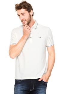 Camisa Polo Sergio K Slim Bege