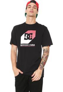 Camiseta Dc Shoes Nosed Preta