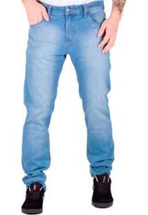 Calça Prime Jeans Light Blue Masculina - Masculino-Azul Claro